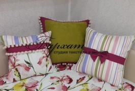 Детские мотивы на декоративных подушках
