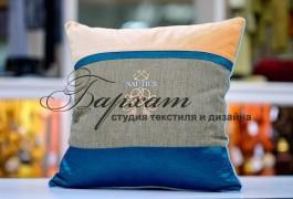 подушка в морском стиле