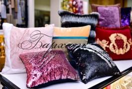 подушки с двусторонними паетками