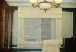 римская штора в кабинет